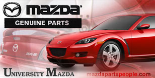 Special discount prices on genuine Mazda parts and accessories